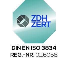 Extension of certificates DIN EN 1090 and DIN EN ISO 3834